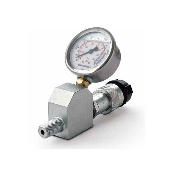 فشارسنج همراه با پایه فشارسنج انرپک مدل GA45GC